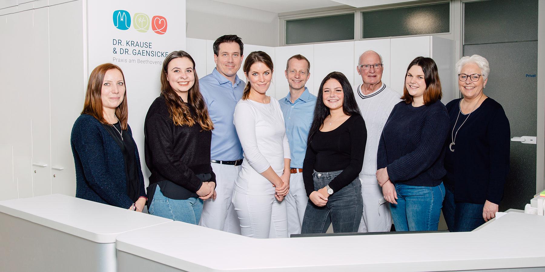 Hausarzt Sülz / Lindenthal - Krause / Gaensicke - Team